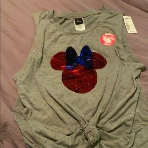 NWT Minnie Mouse Top